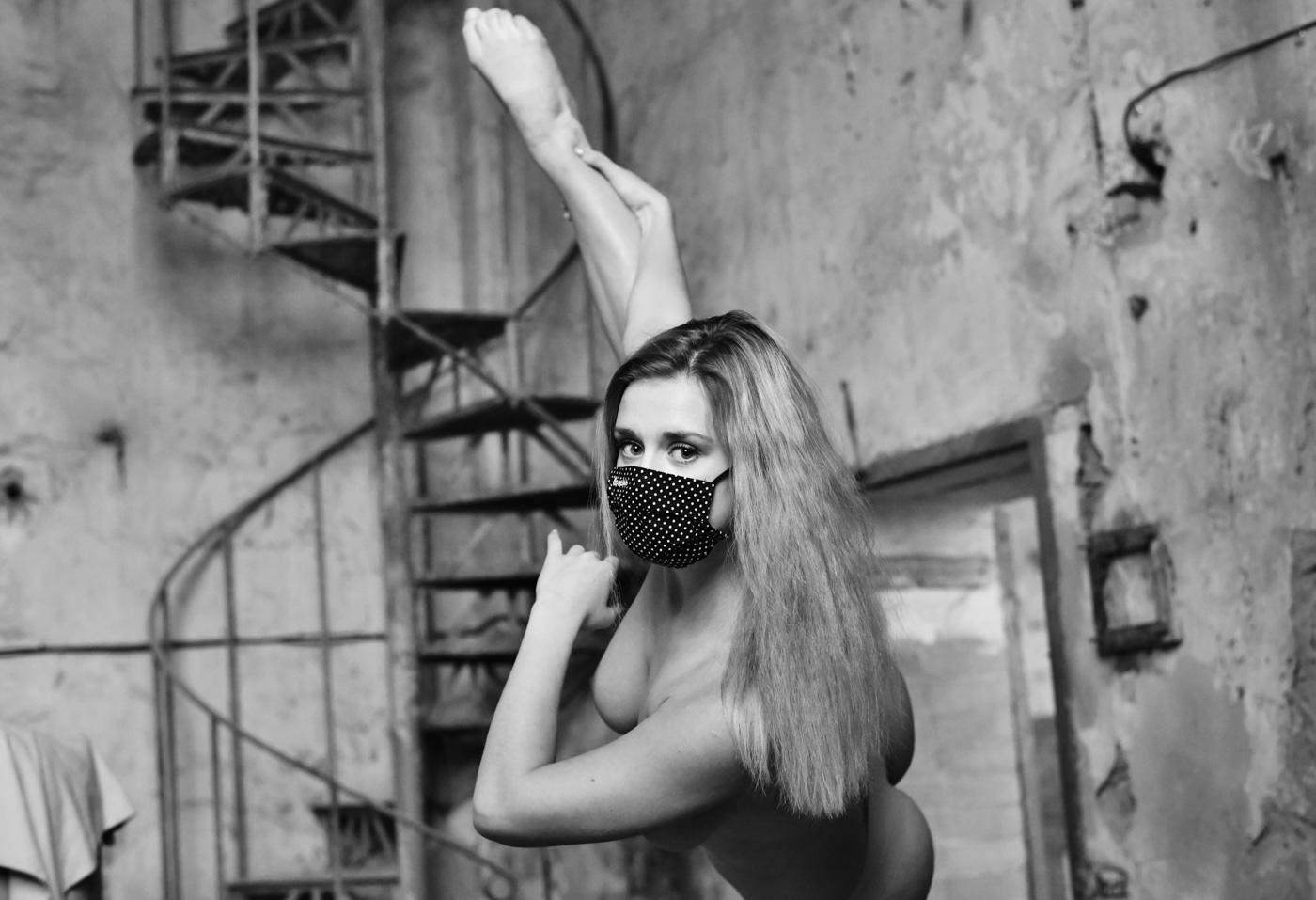 Tanečnice Barbora Onderková. Foto: © Martin Straka/Reflex